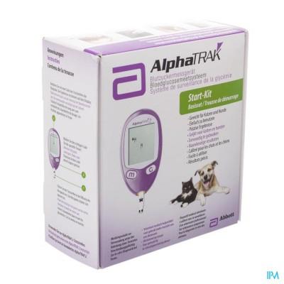 Alphatrak Start-kit Meten Bloedglucose