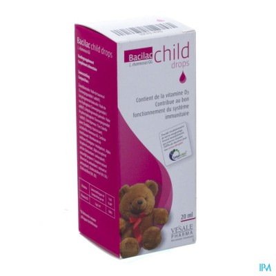 Bacilac Child Drops Fl 20ml
