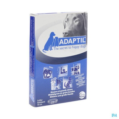 Adaptil Calm Halsband <62,5cm Hond Middelgroot