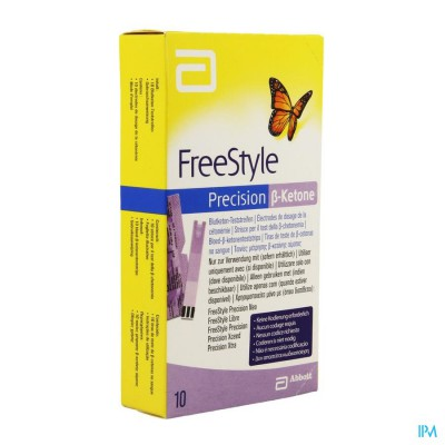 FREESTYLE PRECISION KETONE STRIPS 10 9882070