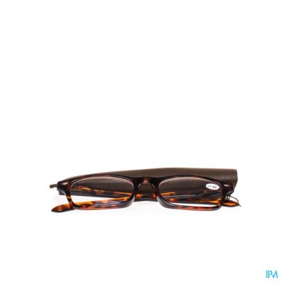 Pharmaglasses Leesbril Diop.+1.00 Brown