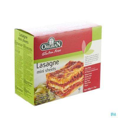 Orgran Ris-o-mais Lasagne 200g 4121 Revogan