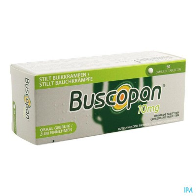 Buscopan 10mg Filmomh Tabl 50 X 10mg Pip