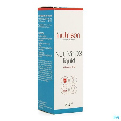 Nutrivit D3 Liquid 50ml Nutrisan