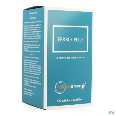 Natural Energy Ferro Plus Caps 90