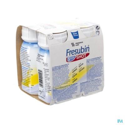 Fresubin 5kcal Shot Citroen Easy Bottle 4x200ml