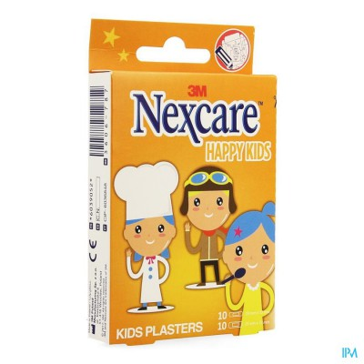 Nexcare 3m Happy Kids Beroepen Pleister 20 N0920pr