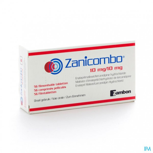 Zanicombo 10mg/10mg Filmomh Tabl 56