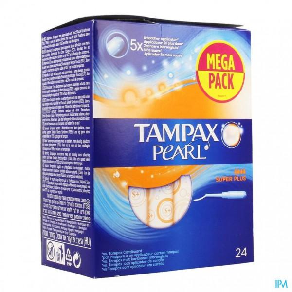 Tampax Pearl Super Plus 24
