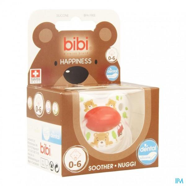 Bibi Fopspeen Hp Dental Cartoon Heroes 0-6m