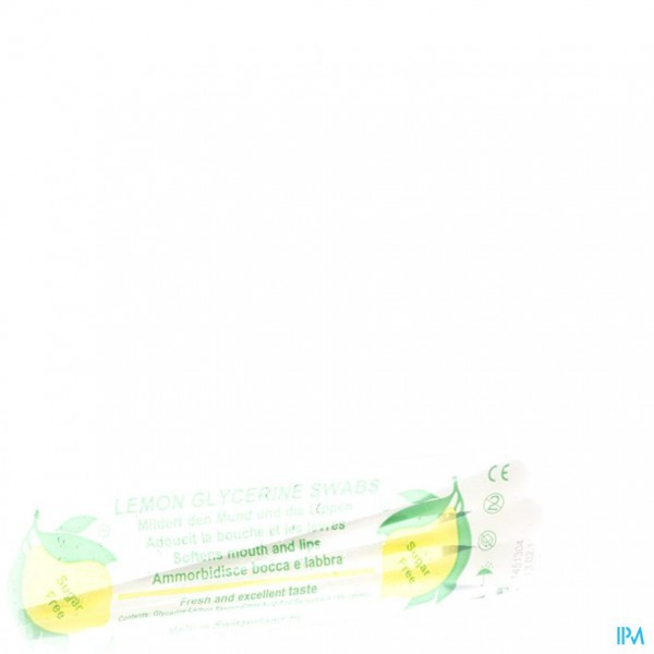 SWABS LEMON GLYCERINE 3